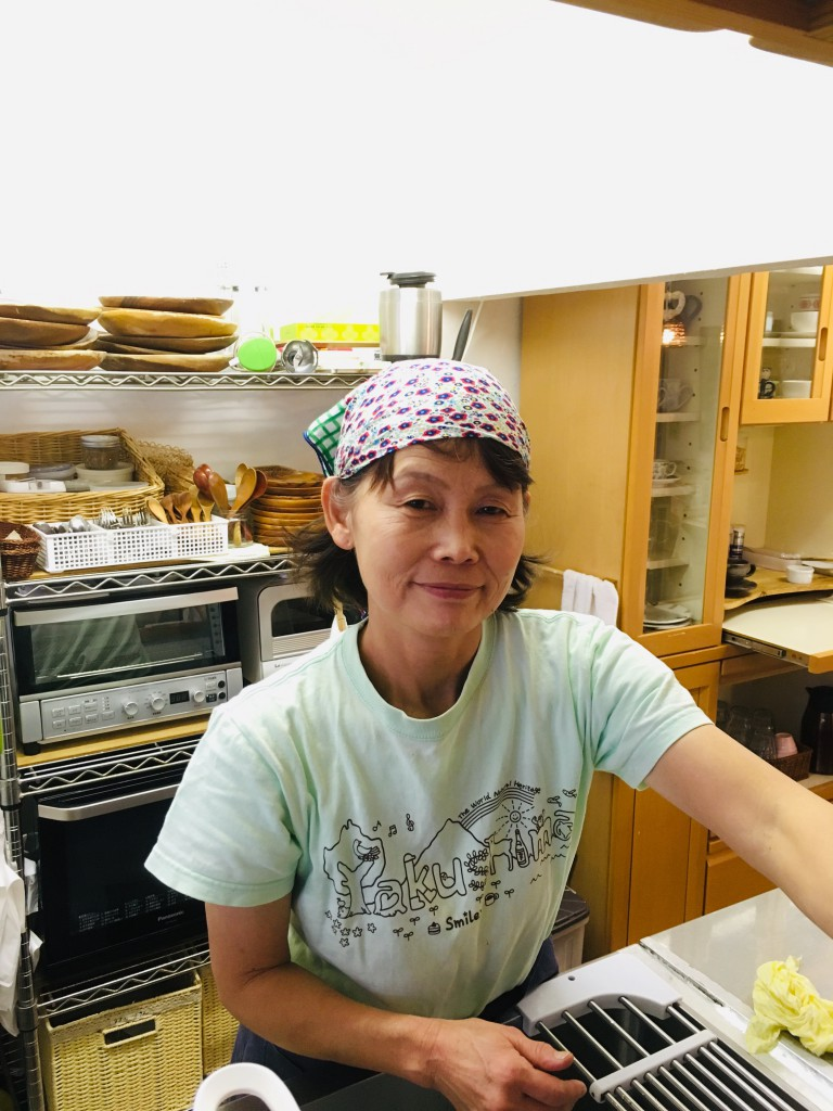 Yasuko Hidaka/Owner of Café Smiley